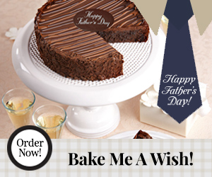 Bake Me  A Wish, Fathers Day