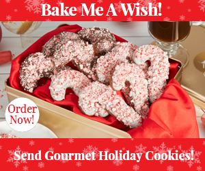 Bake Me  A Wish, Holiday Cookie Dlelivery
