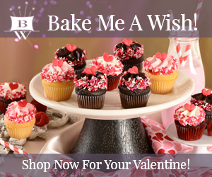 Valentines Day Gift, Bakery Gift, Bake Me A Wish