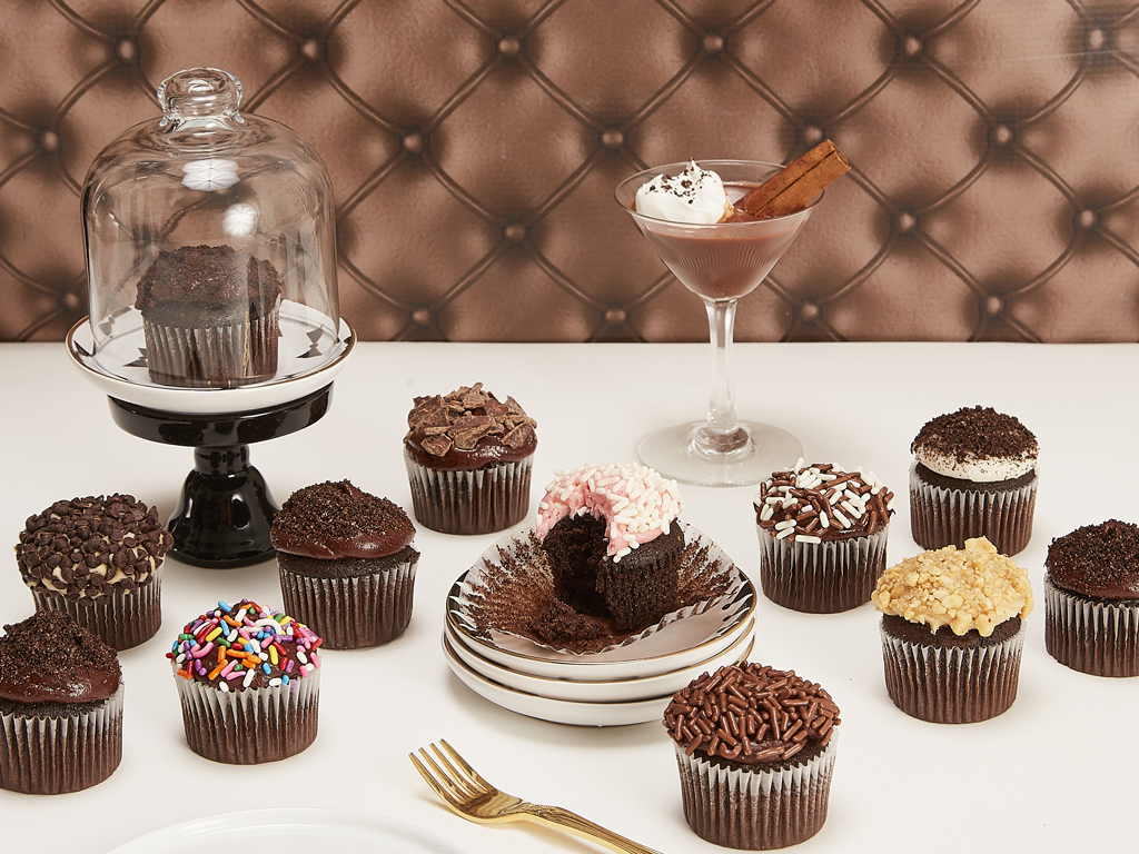 Bake Me A Wish Mini Chocolate Lovers Cupcakes Delivery