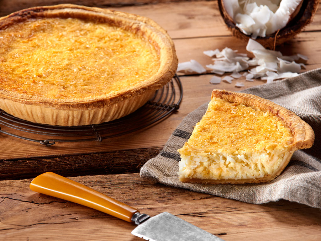Bake Me A Wish Coconut Custard Pie Delivery