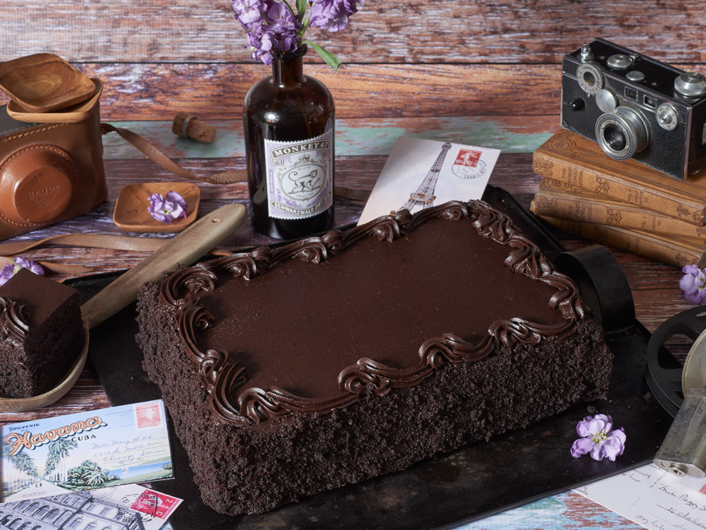 Bake Me A Wish Colossal Chocolate Happy Birthday Sheet Cake Delivery