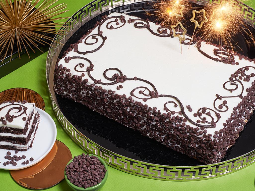 Bake Me A Wish Colossal Chocolate Chip Happy Birthday Sheet Cake