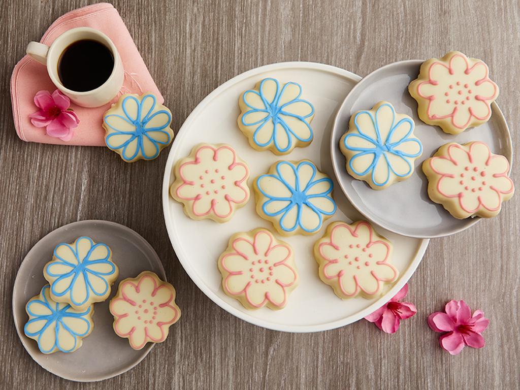 Springtime Flower Cookies