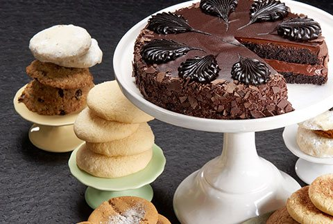 Classic Cake and One Dozen Assorted Cookies