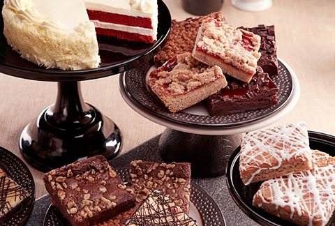 Classic Cake and One Dozen Gourmet Brownies