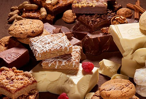 Assorted Gourmet Brownie Sampler and One Dozen Cookies