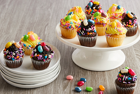 CRUMBS Mini Easter Cupcakes