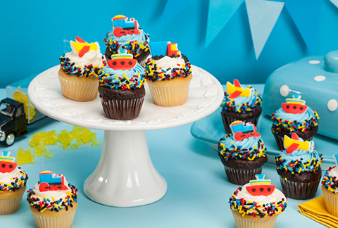 CRUMBS Mini Motors Cupcakes