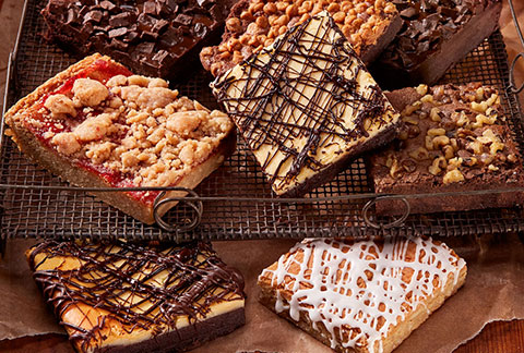 Assorted JUMBO Brownie Sampler (military)