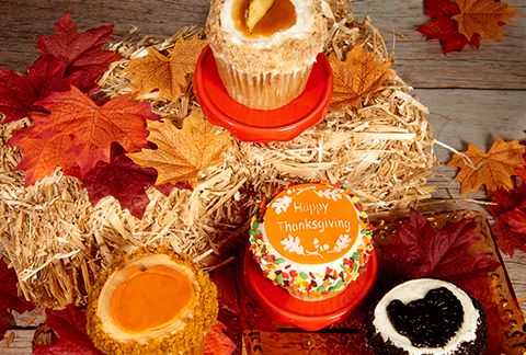 CRUMBS Signature Thanksgiving Cupcakes
