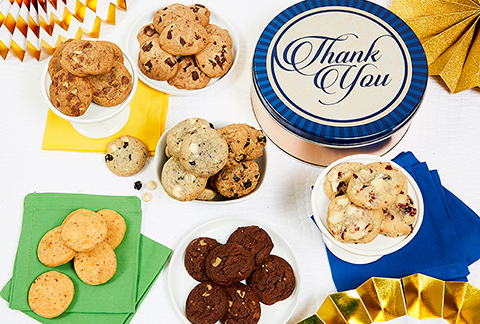 Thank You! Mini-Cookie Tin