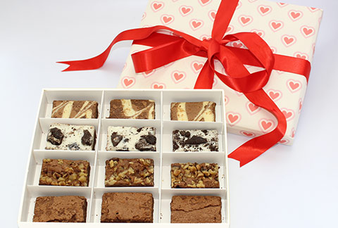Valentine's Day Brownie Sampler
