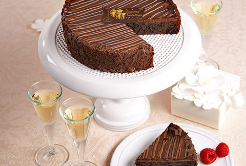 Triple Chocolate Enrobed Brownie Cake - CANADA