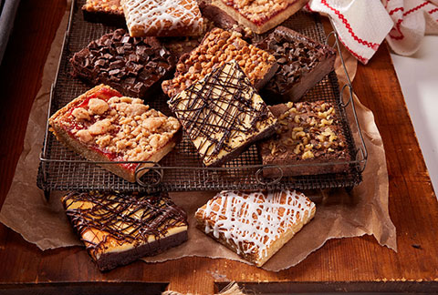 One Dozen Assorted Gourmet Brownies
