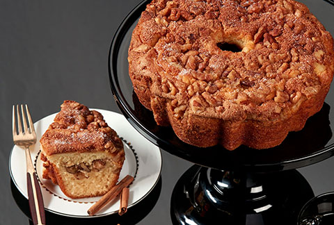 Viennese Coffee Cake - Cinnamon and Walnuts