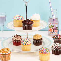 Mini Assorted Gourmet Cupcakes from Bake Me A Wish Cake Delivery