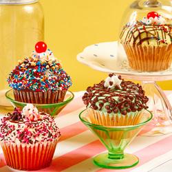 JUMBO Sundae Cupcakes LOVE CUPCAKES