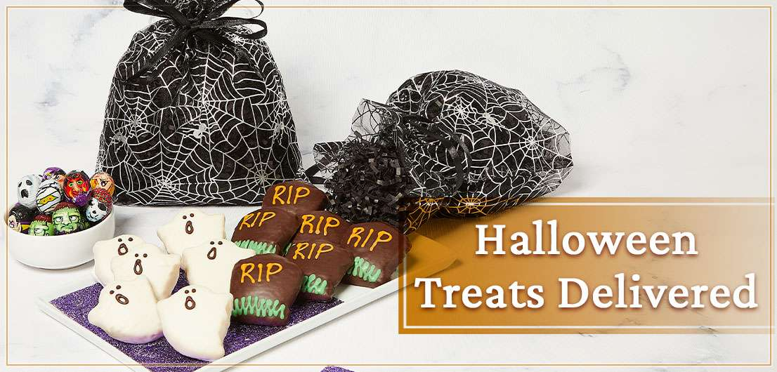 Banner for Gourmet Halloween Cakes