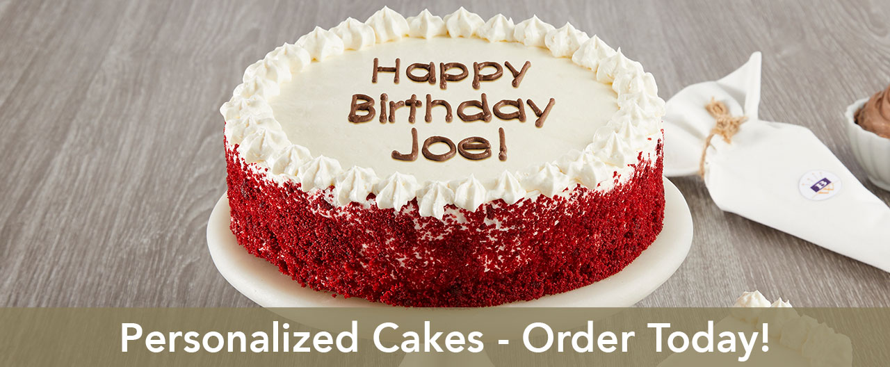 Personalized Cake Banner