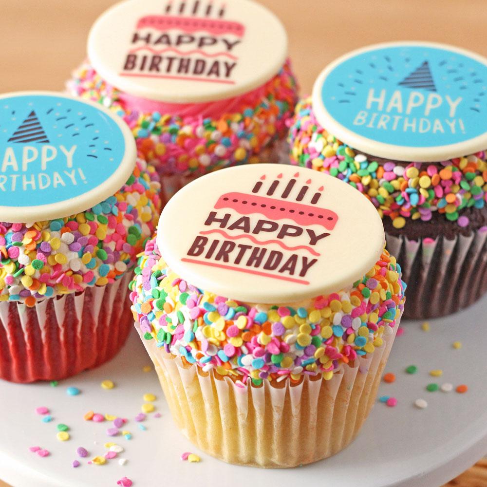 Phenomenal Jumbo Birthday Cupcakes Delivered Funny Birthday Cards Online Inifofree Goldxyz