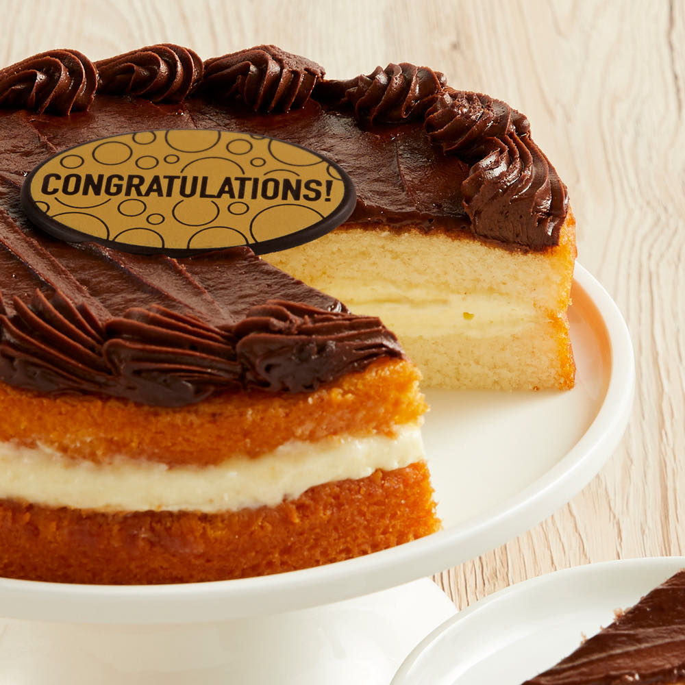 Boston Cream Cake