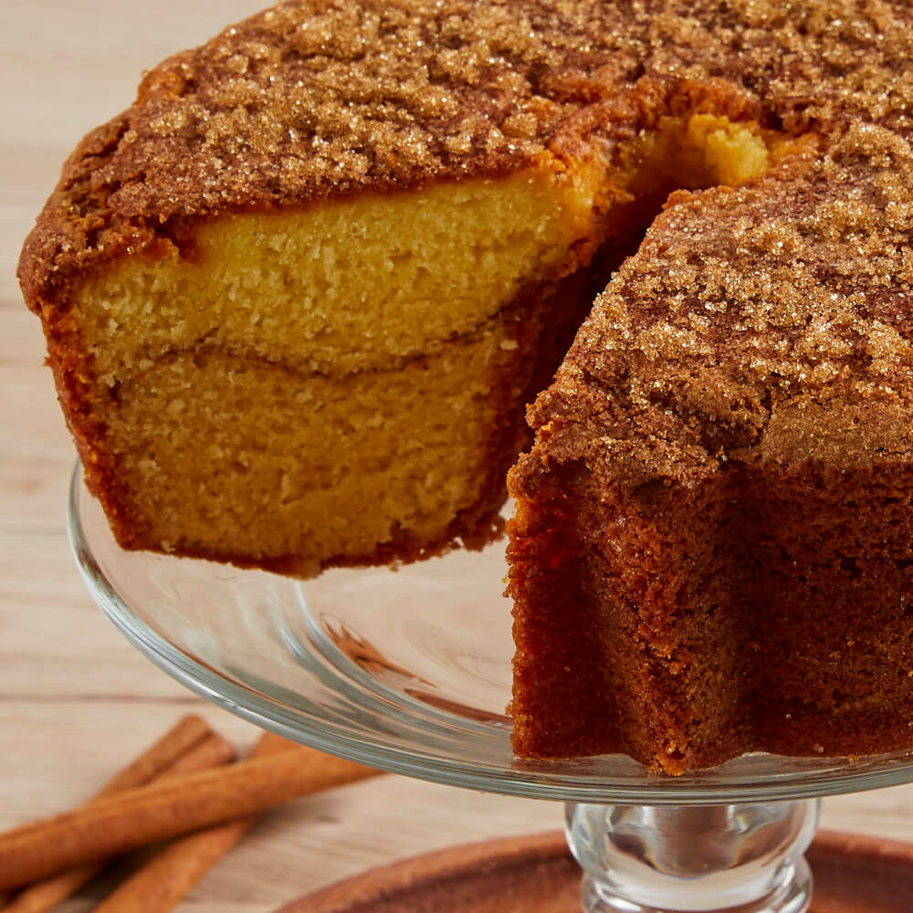 Viennese Coffee Cake - Cinnamon