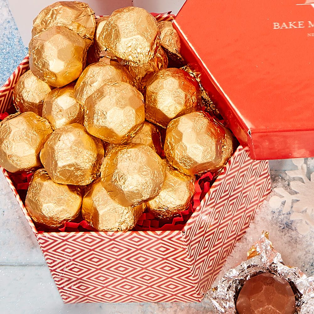 Hazelnut Truffle Hex Box