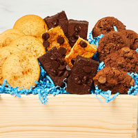 Zoomed in Image of Gluten-Free Cookie and Brownie Crate