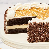 Zoomed in Image of Butterscotch Pudding Cake