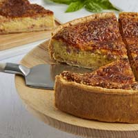 Zoomed in Image of Lorraine Quiche