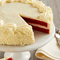 Zoomed in Image of Red Velvet Chocolate Cake