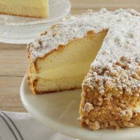 Zoomed in Image of Limoncello Cake