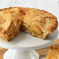 Zoomed in Image of Country Apple Pie