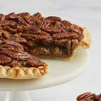 Zoomed in Image of Classic Pecan Pie