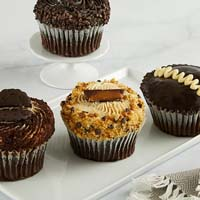 Zoomed in Image of JUMBO Chocolate Lovers Cupcakes