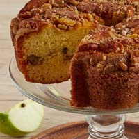 Zoomed in Image of Viennese Coffee Cake - Granny Apple (military)