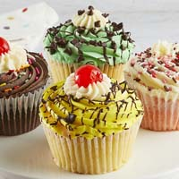 Zoomed in Image of JUMBO Sundae Cupcakes