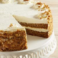 Zoomed in Image of 10-inch Carrot Cake