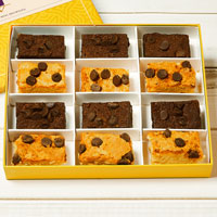 Zoomed in Image of Gluten-Free Gourmet Brownie Sampler