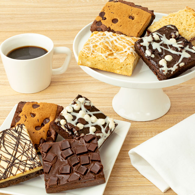 Assorted JUMBO Brownie Sampler