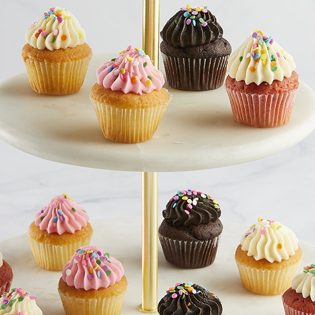 Mini Birthday Cupcakes