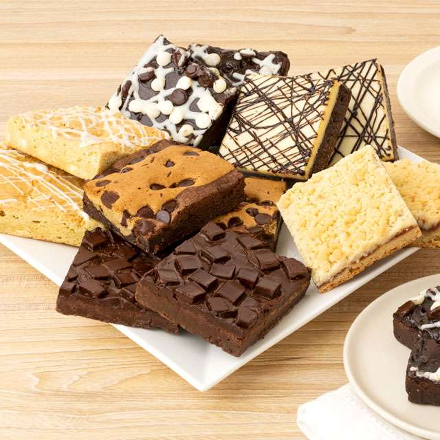 One Dozen Assorted JUMBO Brownies