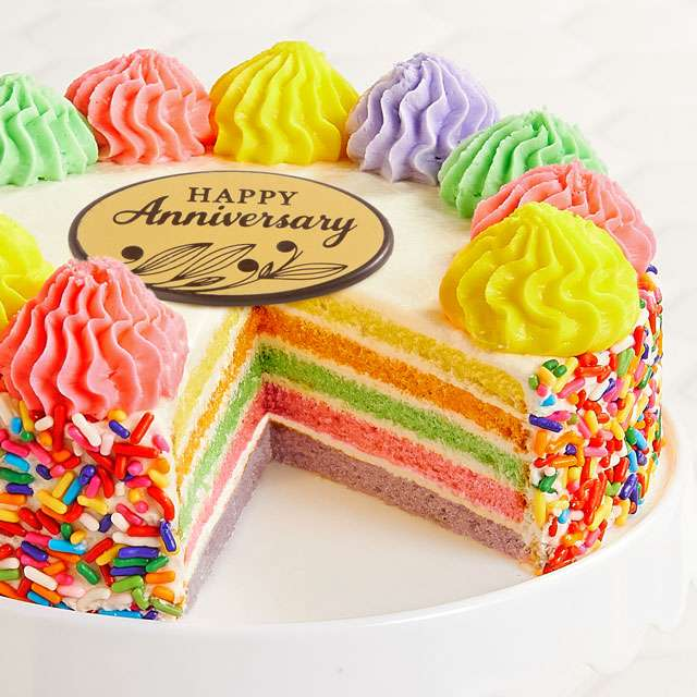 image of Rainbow Cake