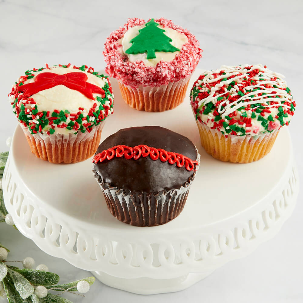 JUMBO Holiday Cupcakes