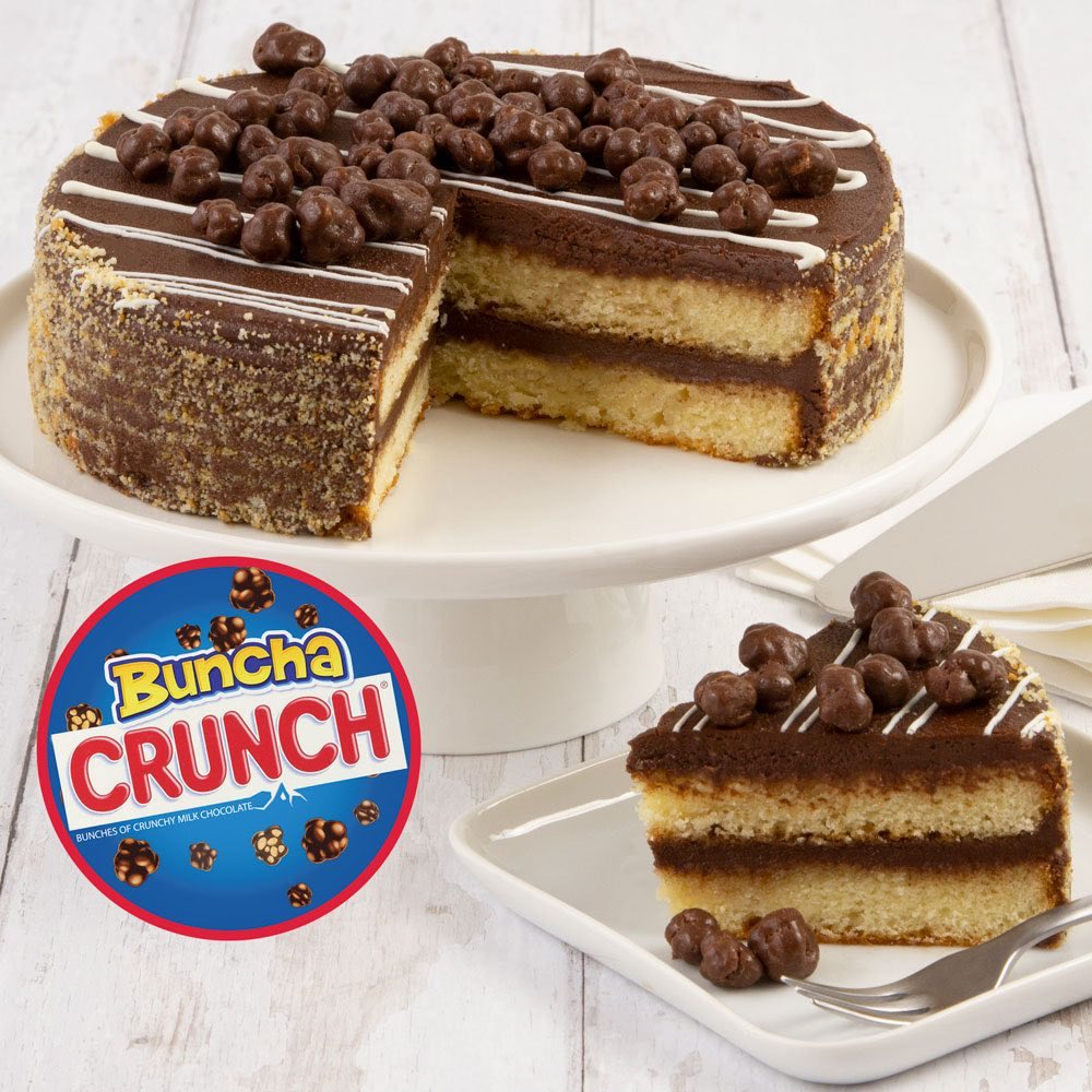 Nestle Crunch Candy Cake