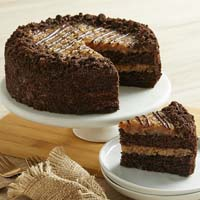 Wide View Image German Chocolate Cake