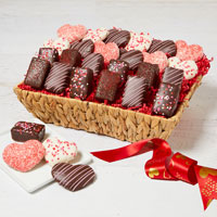 Wide View Image The Valentine's Day Basket