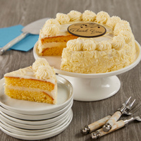 Wide View Image Vanilla Bean Cake
