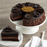 Wide View Image Chocolate Mousse Torte Cake